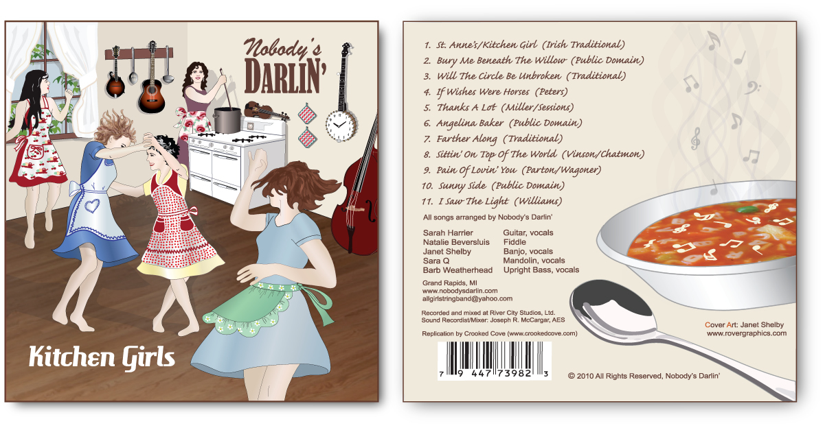 Nobody's Darlin' CD cover