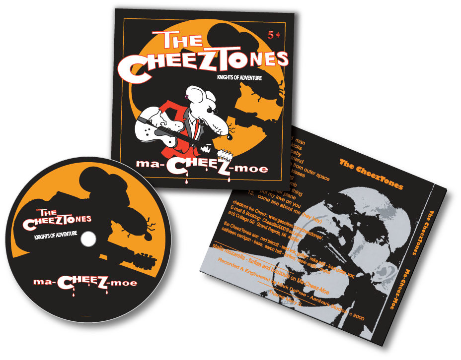 Cheeztones CD cover